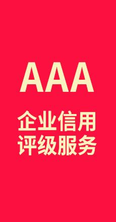 AAA企业信用评级服务