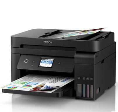 爱普生L6178打印机商务办公墨仓式连供喷墨打印复印扫描传真多功能 无线彩色自动双面无边距 一体机